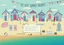 Beach Houses - Neat Row Of Tin...
