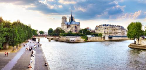 Ile de la Cité, Cathédrale de Notre-Dame, Paris