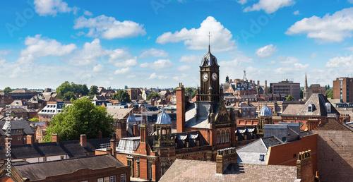 Obraz na dibondzie (fotoboard) Panoramiczny widok Jork, Anglia