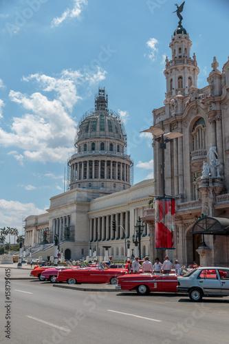 Das Kapitol, el Capitolio in Havanna, Kuba, sehenswürdigkeiten Wallpaper Mural
