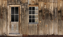 Western Wooden Home Wall With...