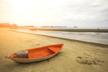Sam Roi Yot Beach In The Morni...