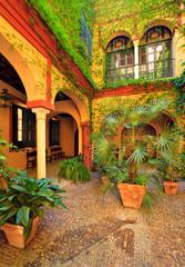 Fototapeta na wymiar Séville, Quartier de Santa Cruz