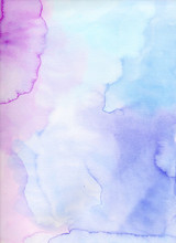 Watercolor Background. Colorful Abstract
