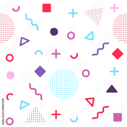 avant-garde-geometric-seamless-pattern-on-white-with-colorful-shapes