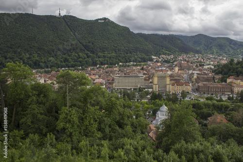 Fotobehang Marokko Brasov - the old City