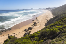 View Over Coast On The Garden Route, South Africa