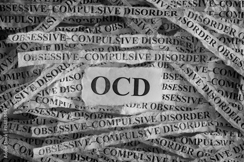 Obsessive compulsive disorder (OCD) Canvas Print
