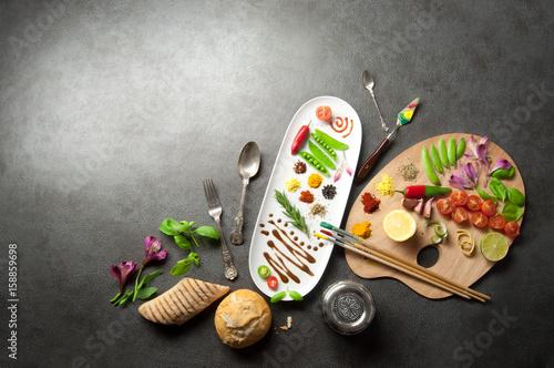 Koncepcja palety żywności