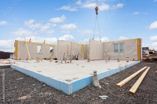 Fotografía  Building the energy efficient house