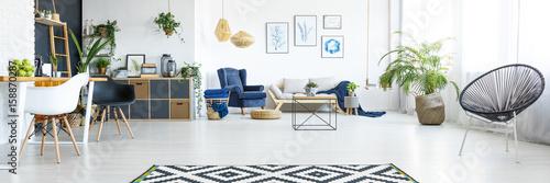 Photographie Spacious living room