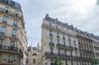 Paris, typical facade, building