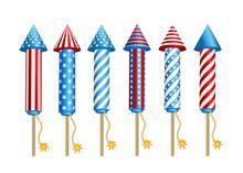 Firework  Rockets  In  America...