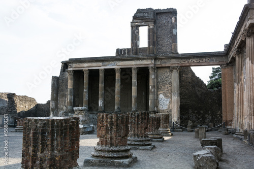 Plakat  Ancient temple of Jupiter, Pompeii