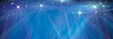 Vector blue  lights background.
