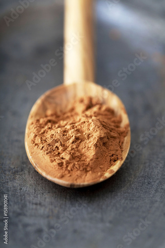 Fotografie, Obraz  Illustration of organic cosmetics Red clay