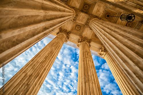 Photo Supreme Court Columns