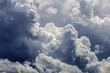 Leinwandbild Motiv Cloudy clouds abstract background