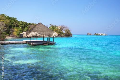 Foto auf Gartenposter Karibik Islas de Rosario, Cartagena de Indias, Colombia
