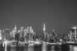 NYC SKYLINE BLACK AND WHITE