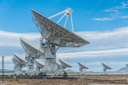 Fotografie, Tablou  Very Large Array Radio Telescope