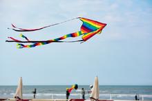 Rainbow Kite Flying Over The B...