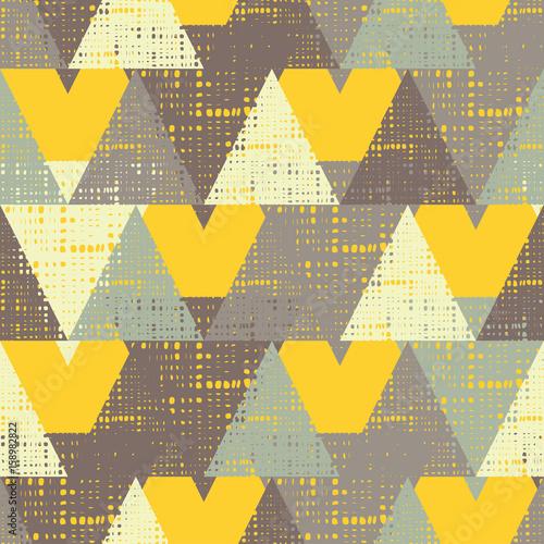 Tapeta ścienna na wymiar Jesienna trójkątna tekstura