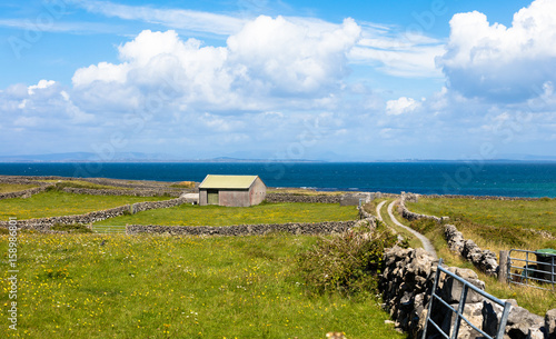 Landscape of Inishmore Wallpaper Mural