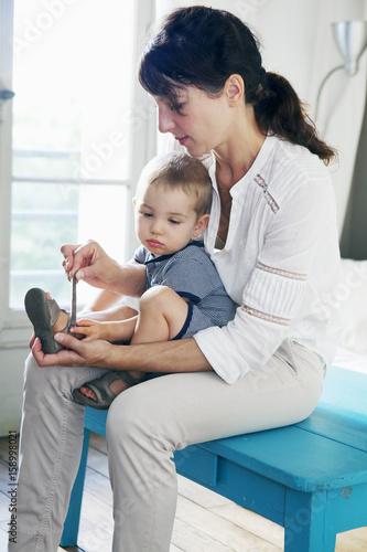 Fototapeta 16-month-old child obraz na płótnie