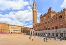 Palazzo Publico And Torre Del ...