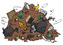 Huge Pile Of Garbage