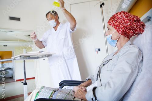 Photo Ambulatory chemotherapy
