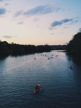 Kayakers On The Potomac River