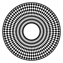 Circular Checkerboard Pattern....