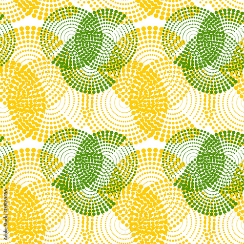 Keuken foto achterwand Draw Colorful abstract seamless pattern. Repeating geometric shapes. Vector
