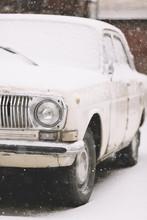 Part Of Classic Vintage Car