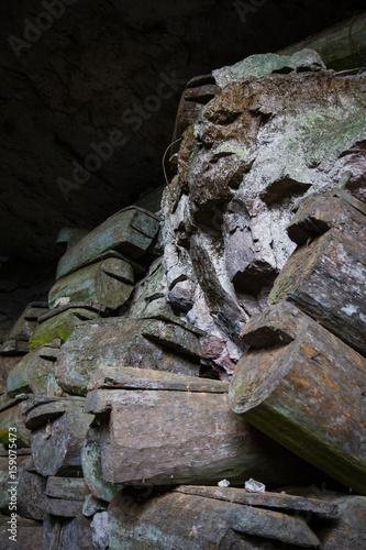 Obraz na plátně  Lumiang Burial Cave, Sagada, Luzon, Philippines