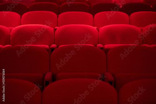Poltrone da teatro rosse Slika na platnu