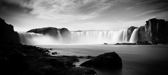 Obraz na Szkle Wodospad Godafoss - Wasserfall Island | Iceland