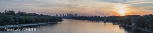 Fototapeta Warsaw Panorama obraz