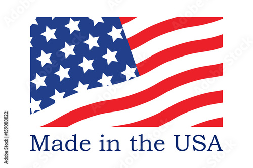 Made in the USA symbol Poster