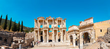 Celsus Library In Ephesus, Tur...
