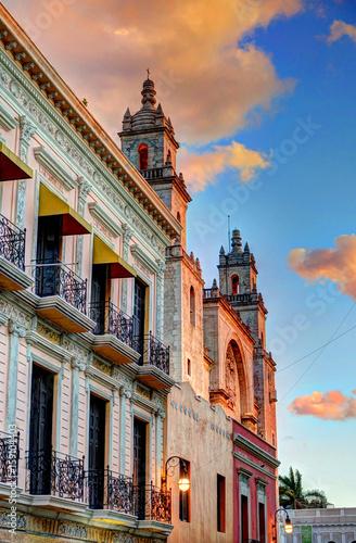 Obraz na plátně Mérida, Yucatan, Mexico
