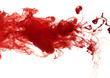 Red ink into the water