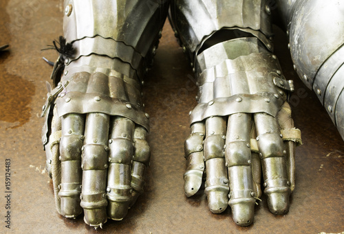 Photo  Metal Armor Gloves