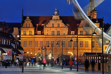 Fototapeta Gdańsk Green Gate in Gdansk, Poland