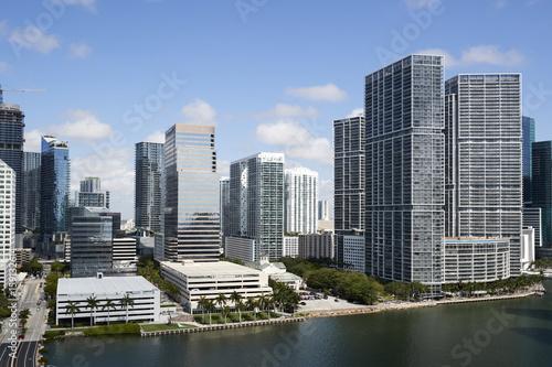 Plakat Brickell - Miami - Floryda