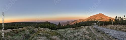 Fototapeta Śnieżka - Karkonosze - Sudety - Góry obraz