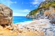 A view of Cala Goloritze beach, Sardegna