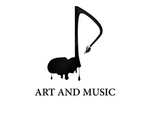 Music And Art Logo Illustratio...